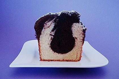 Marmorkuchen mit Nougatcreme 33