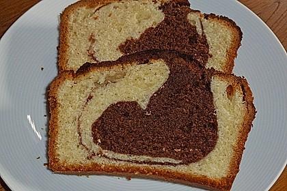 Marmorkuchen mit Nougatcreme 8