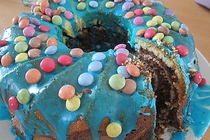 Marmorkuchen mit Nougatcreme 32
