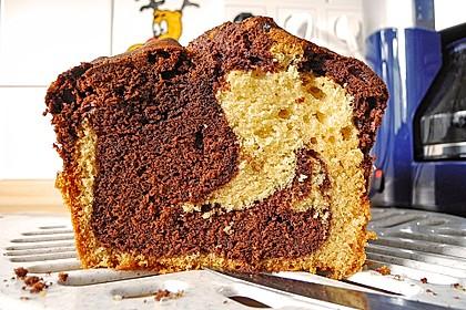 Marmorkuchen mit Nougatcreme 30
