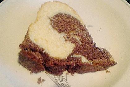 Marmorkuchen mit Nougatcreme 40