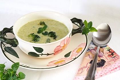 Brokkoli-Cremesuppe 5