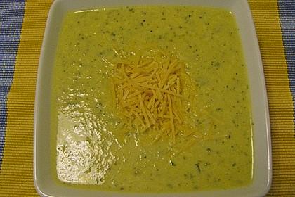 Brokkoli-Cremesuppe 8