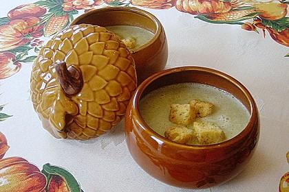 Brokkoli-Cremesuppe 3