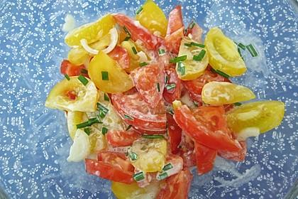 Tomatensalat Großvaters Art 18