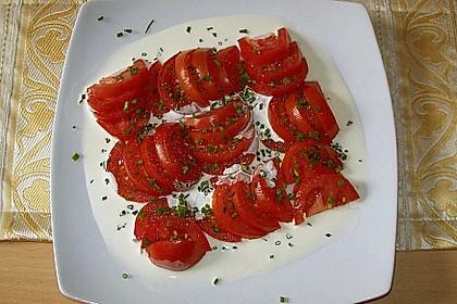 Tomatensalat Großvaters Art 10