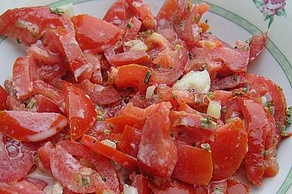 Tomatensalat Großvaters Art 21