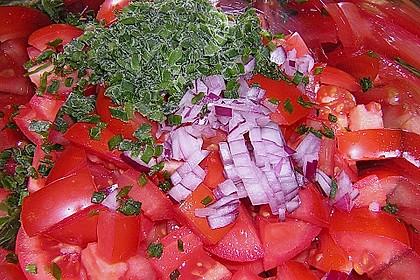 Tomatensalat Großvaters Art 27