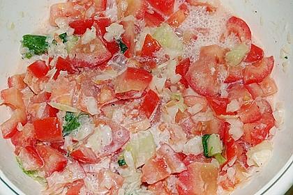 Tomatensalat Großvaters Art 25