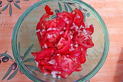 Tomatensalat Großvaters Art 23
