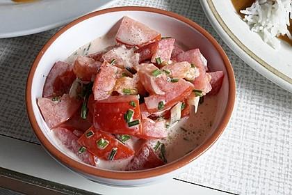 Tomatensalat Großvaters Art 5