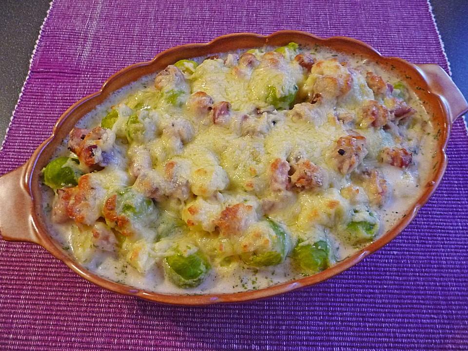 Rosenkohl Kartoffel Auflauf Von Crazylady01010 Chefkoch