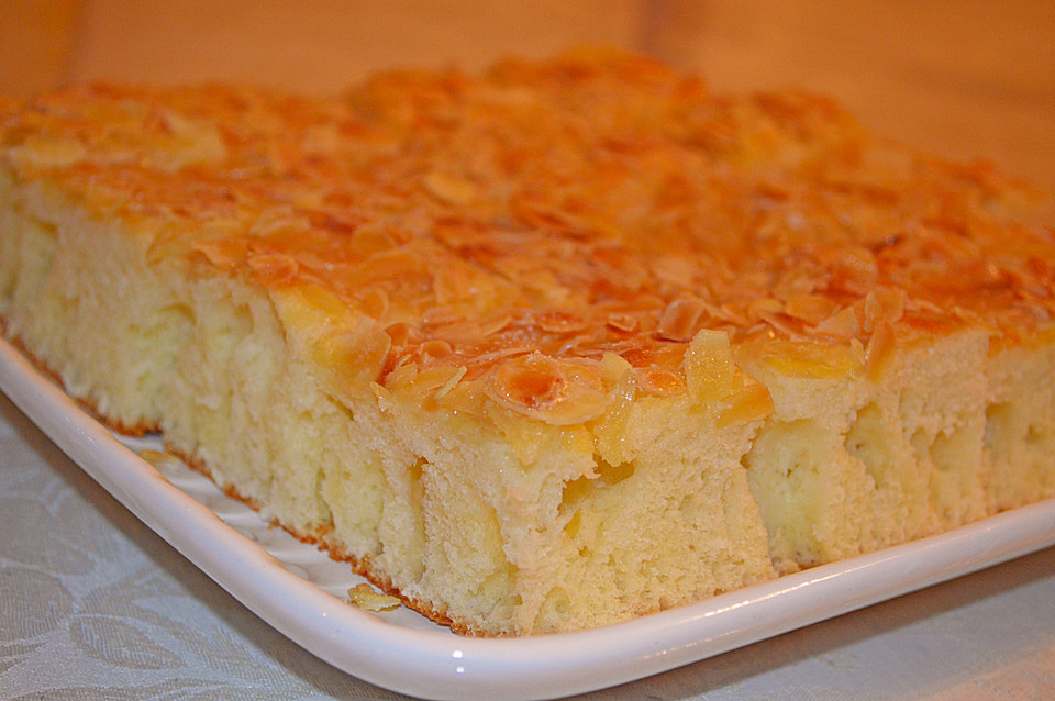 Buttermilch Zucker Mandel Butterkuchen Von Diansche Chefkoch De
