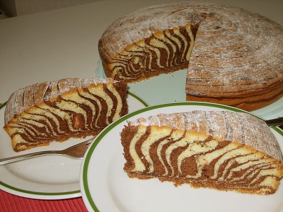Zebrakuchen Von Sivi Chefkoch De