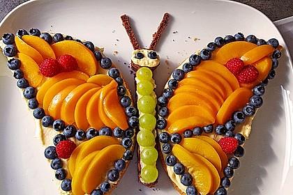 Schmetterlings - Torte (Bild)