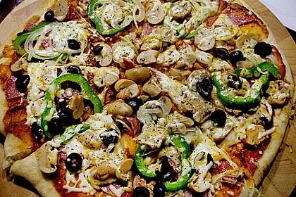 Pfannen - Pizza 1