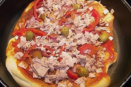 Pfannen - Pizza 45