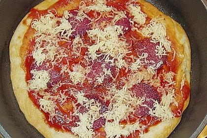 Pfannen - Pizza (Bild)