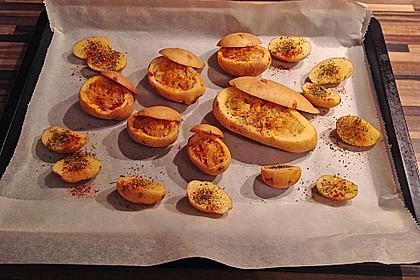 Leckere, gefüllte Kartoffeln 1