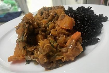 Kürbis - Linsen - Curry 7