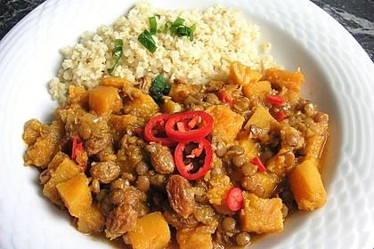 Kürbis - Linsen - Curry 5
