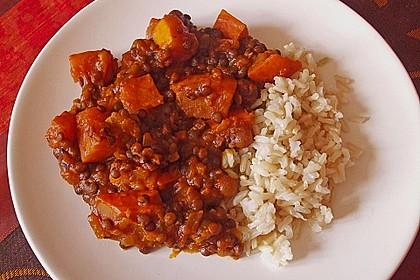 Kürbis - Linsen - Curry 3