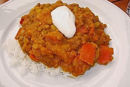 Kürbis - Linsen - Curry 10