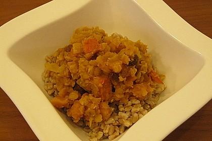 Kürbis - Linsen - Curry 20