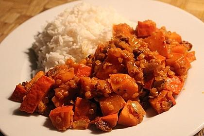 Kürbis - Linsen - Curry 17