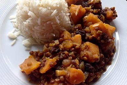 Kürbis - Linsen - Curry 8