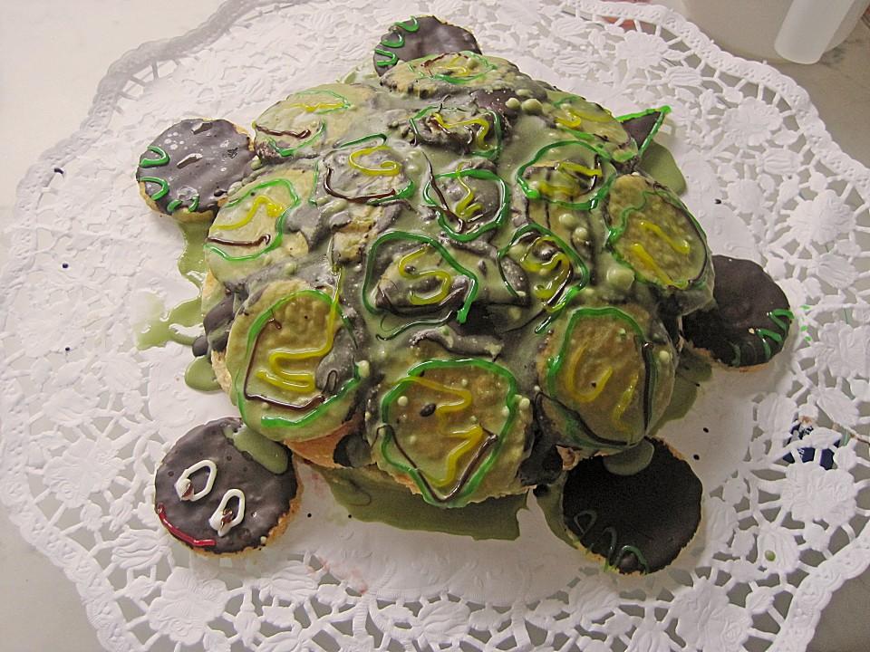 Kindergeburtstag Schildkrotenkuchen Von Superomiopi Chefkoch De