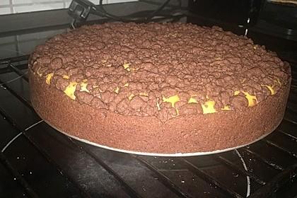 Michas Schoko-Streuselkuchen mit Quark-Kirschfüllung 7