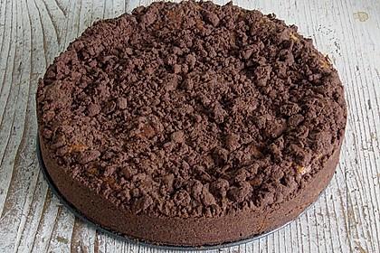 Michas Schoko-Streuselkuchen mit Quark-Kirschfüllung 69