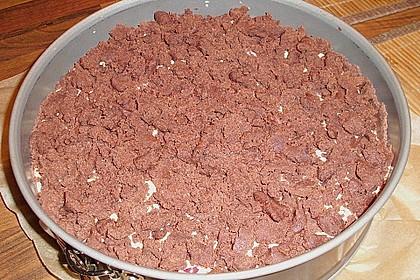 Michas Schoko-Streuselkuchen mit Quark-Kirschfüllung 90