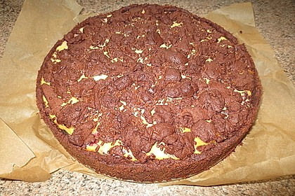 Michas Schoko-Streuselkuchen mit Quark-Kirschfüllung 58