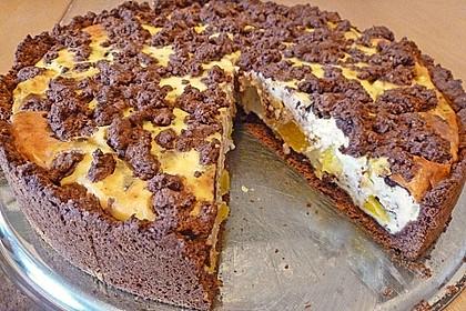 Michas Schoko-Streuselkuchen mit Quark-Kirschfüllung 21
