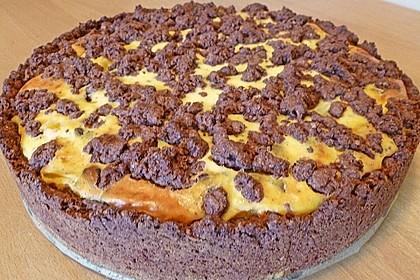 Michas Schoko-Streuselkuchen mit Quark-Kirschfüllung 36