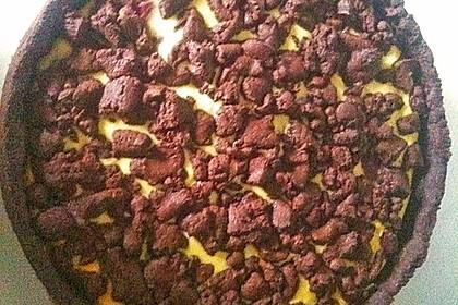 Michas Schoko-Streuselkuchen mit Quark-Kirschfüllung 93