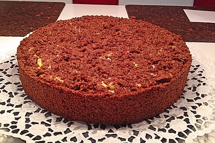 Michas Schoko-Streuselkuchen mit Quark-Kirschfüllung 50