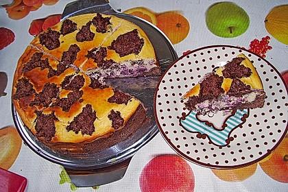 Michas Schoko-Streuselkuchen mit Quark-Kirschfüllung 76