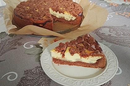 Michas Schoko-Streuselkuchen mit Quark-Kirschfüllung 4