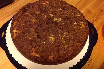 Michas Schoko-Streuselkuchen mit Quark-Kirschfüllung 51