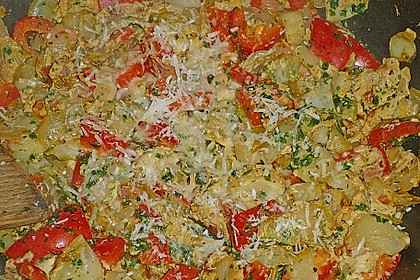 Mellys Paprika - Chicoree - Ei - Pfanne (Bild)