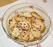 Orangen - Schokoladen - Plätzchen (Bild)