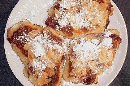 Quark - Kirsch - Pfannkuchen