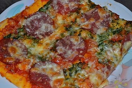 Würzige Pizza nach Italienischer Art