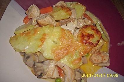 Hühnergeschnetzeltes mit Gemüse 1