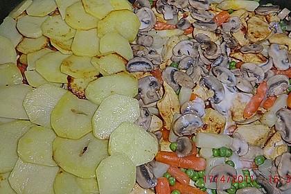 Hühnergeschnetzeltes mit Gemüse 2