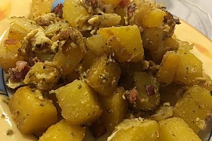 Illes falsche Bratkartoffeln zum Kaloriensparen 14