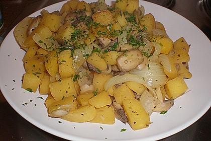 Illes falsche Bratkartoffeln zum Kaloriensparen 9